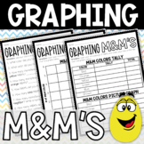 Graphing M&M's on Picture Graph and Bar Graph Activity