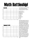 Graphing Math Battleship