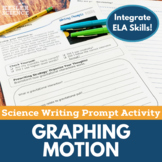 Graphing Motion- Writing Prompt Activity- Distance Learning