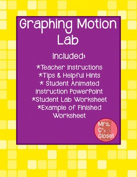 Graphing Motion Lab