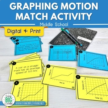 Graphing Motion Match Activity
