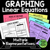 Graphing: Multiple Representations, Relating Graphs, Tables, Equations, Stories