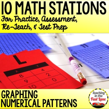 Graphing Numerical Patterns Stations