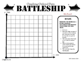Graphing Ordered Pairs Battleship
