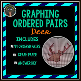 Graphing Ordered Pairs: Connect the Dots - Deer Head