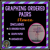 Graphing Ordered Pairs: Connect the Dots - Flower