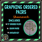 Graphing Ordered Pairs: Connect the dots- Shamrock *St. Patricks Day*