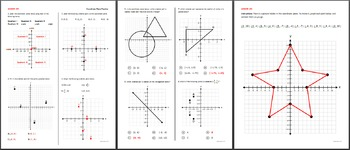 Graphing Ordered Pairs Coordinate Plane Practice