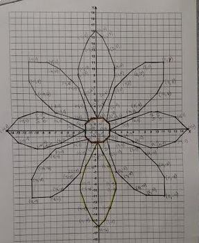Graphing Ordered Pairs - Daisy