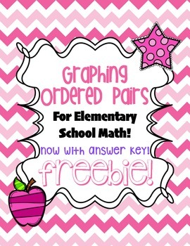 Graphing Ordered Pairs FREEBIE!