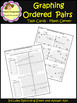 Graphing Ordered Pairs - Task Cards - Coordinate Plane (School Designhcf)