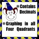 Coordinate Plane Graphing with Decimals