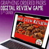 Graphing Ordered pairs Review Game - Hot Stew Review