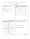 Graphing Parabolas Group Activity