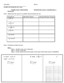 Graphing Parallel/Perpendicular Lines Guided Notes + Practice