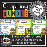 Picture, Bar, and Line Plots Graphing Games and No Prep Printables