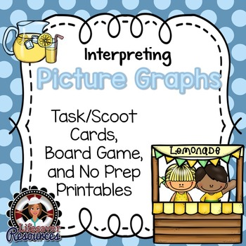Picture Graphs Game and No Prep Printables