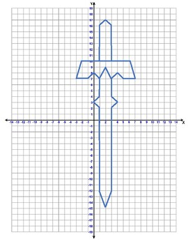 Graphing Picture - Sword