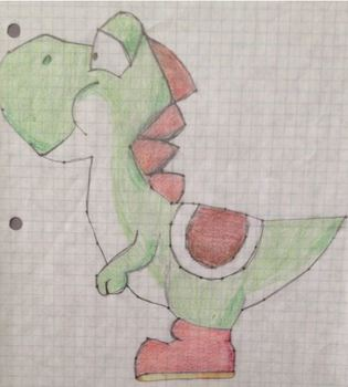 Graphing Picture - Yoshi