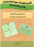 Common Core Graphing Piecewise Functions Linear