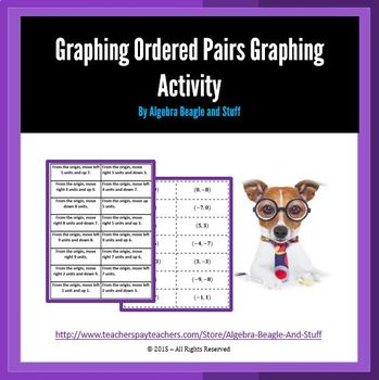 Graphing Ordered Pairs Matching Activity