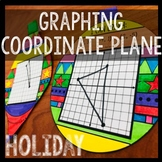 Graphing Points on Coordinate Plane Holiday Ornaments!