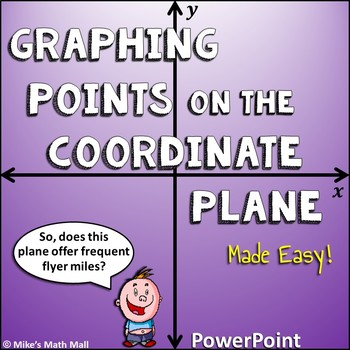 Graph Points on the Coordinate Plane Made Easy (PowerPoint Only)