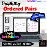 Graphing Ordered Pairs on Coordinate Plane Digital Activit