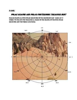 Graphing Polar Equations Treasure Hunt