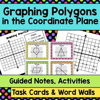 Graphing Polygons on a Coordinate Plane Common Core Standard:  6.G.3.