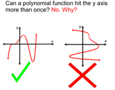 Graphing Polynomial Functions  4 Lessons + 4 Assignments for PDF