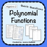 Graphing Polynomial Functions Activity: Fix Common Mistakes!