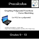 Graphing Polynomial Functions - Curve Sketching