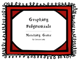 Graphing Polynomials - Matching Game