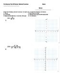 Graphing Polynomials and Rational Functions Test