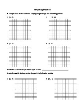 Graphing Practice