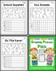Graphing Practice Printables for Kinders