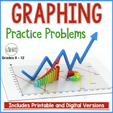 Graphing Practice Problems | Printable and Digital Distance Learning