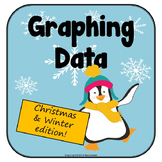 Graphing Practice - Winter themed data pack