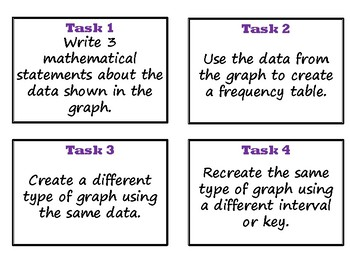 Graphing Practice and Task Cards