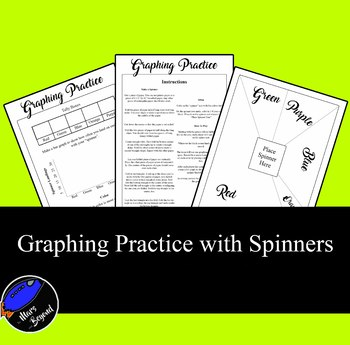 Graphing Practice with Spinners (Bar Graph and Dot Plot)