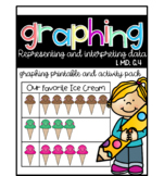 Graphing Printable and Activity Pack