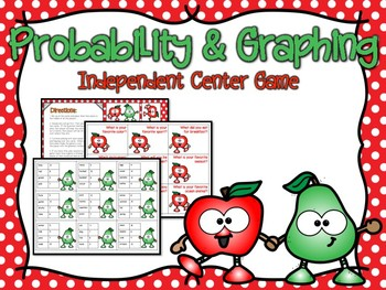 Graphing & Probability Independent Center Game #2