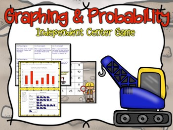 Graphing & Probability Independent Center Game #3