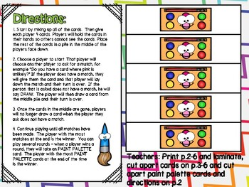 Graphing & Probability Independent Center Game #4