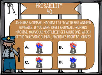 Graphing & Probability Jeopardy Review Game