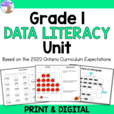 Graphing & Probability Unit for Grade 1 (Ontario Curriculum)