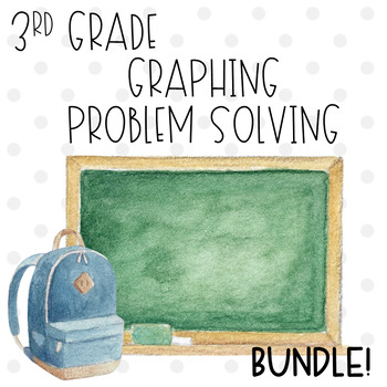 Picture Graphs, Line Plots, Frequency Table BUNDLE!