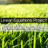 Linear Equations Graphing Grass and Data Project