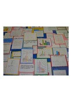 Graphing Project - Student Survey, Statistics, Descriptive Paragraph, Display
